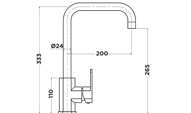 B1000 Bingo Sink Mixer
