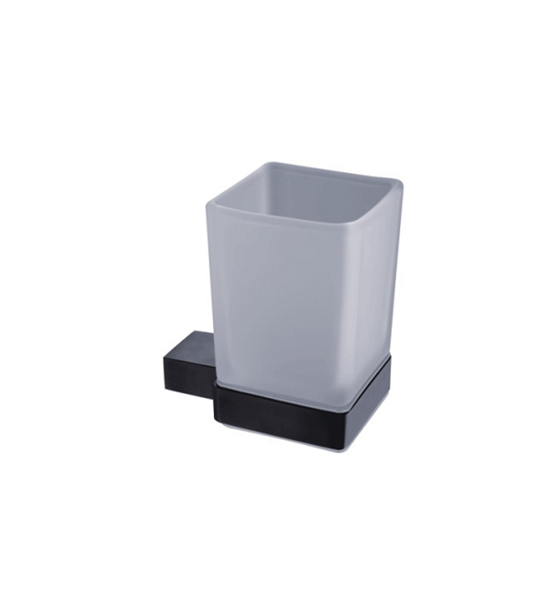 Single TUmbler Holder Black