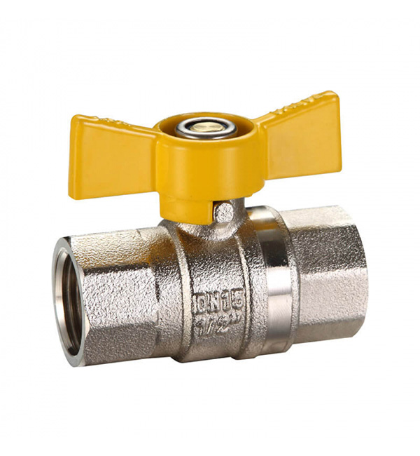 Ball Valve F&F Butterfly Handle