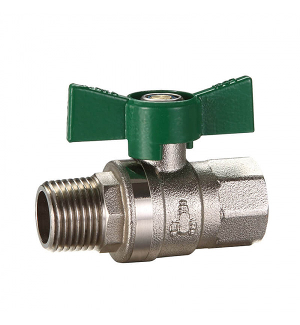 Ball Valve M&F Butterfly Handle