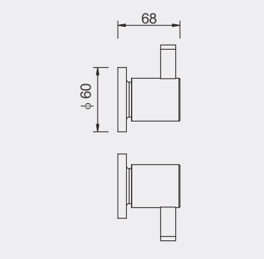 Bond Wall Top Assembly Dimensions