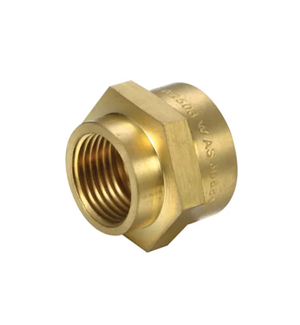 Brass Hexagon Socket - Reducing