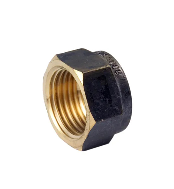 Brass Hexagon Cap