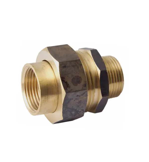Brass Barrel Union MxF