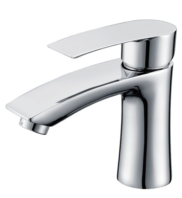 C1005 - Contour Basin Mixer Chrome Tapware