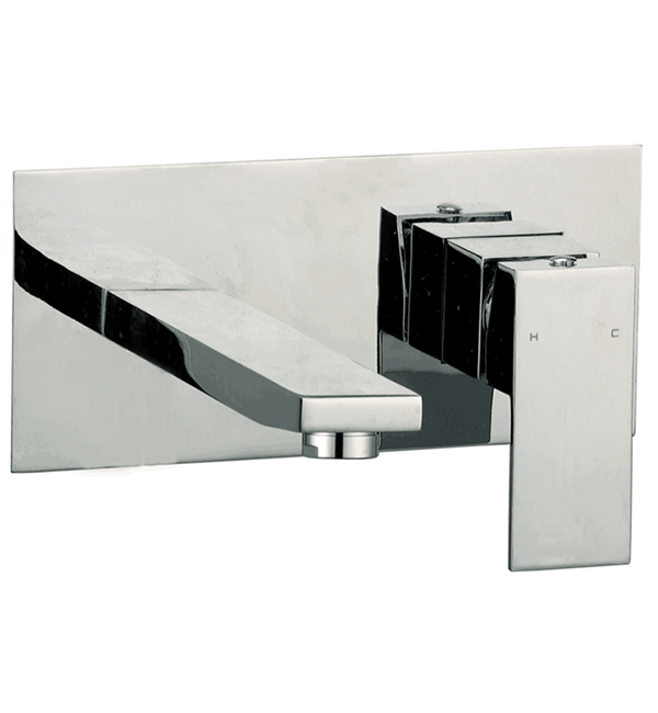Ettore Wall Basin Bath Mixer