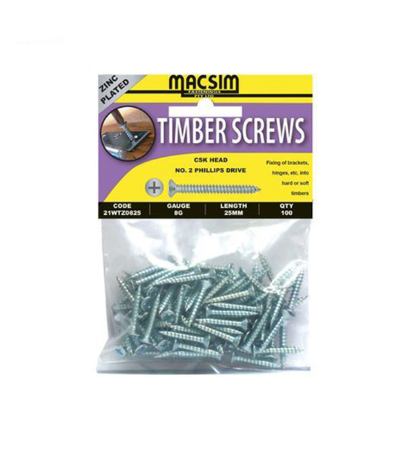 Timber Screw 8g