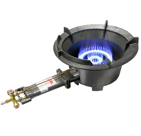 GC1090 High pressure wok burner complete with regulator and hose