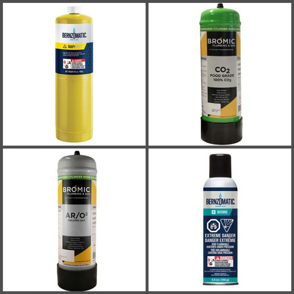 Gas Refills and Cylinders