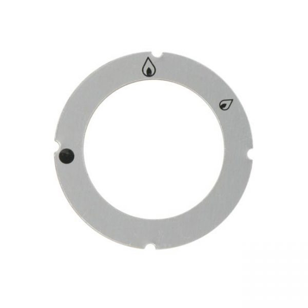 KG1020 - 9099311 - ESCUTCHEON FOR KNOB NO PILOT