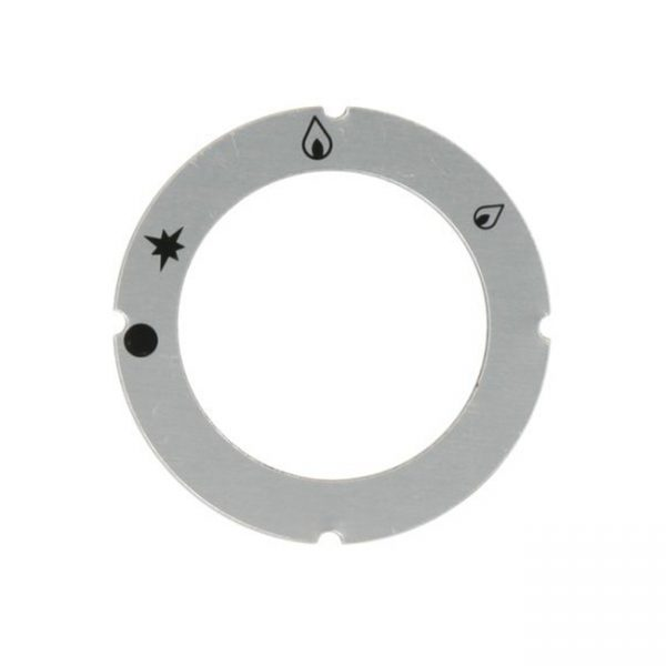 KG1025 - ESCUTCHEON FOR KNOB MARKED PILOT