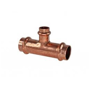 Copper Press Fittings Gas - Reducing Tee