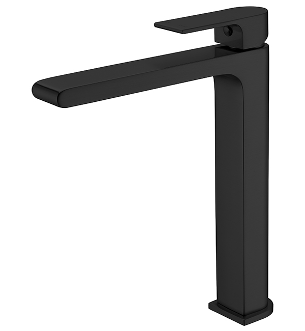Bianca Tall Basin MIxer Matte Black