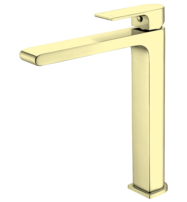 Bianca Tall Basin MIxer Brushed Gold