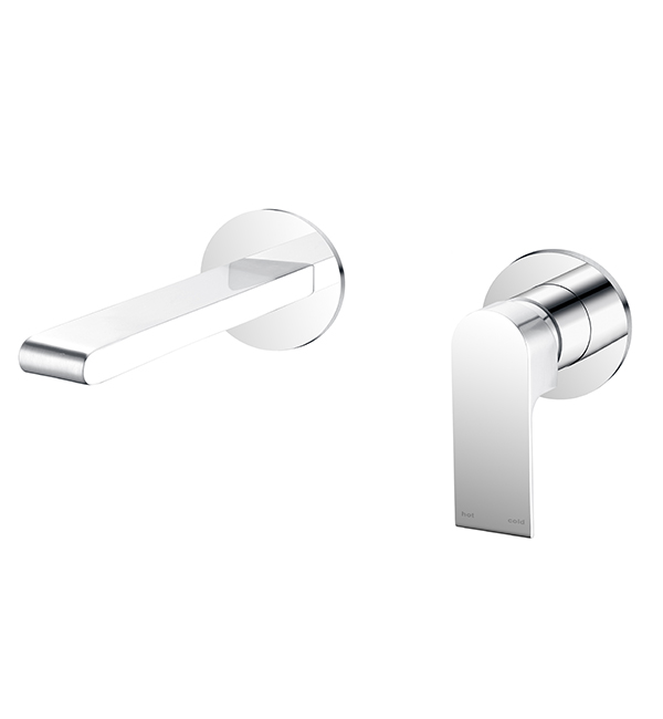 Bianca Wall Basin MIxer Chrome