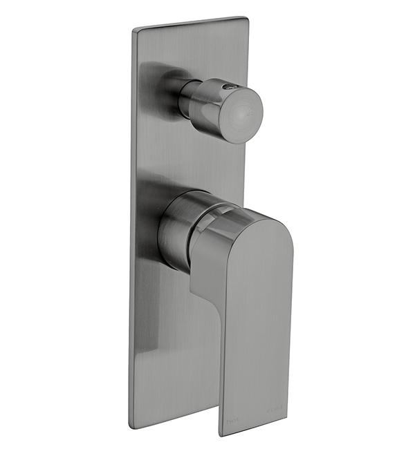 Bianca Shower Diverter Mixer Gun Metal Grey