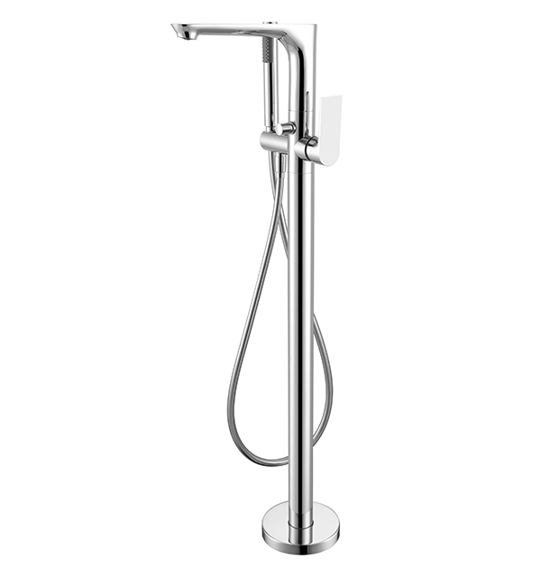 Bianca Floor Standing Bath Mixer Chrome