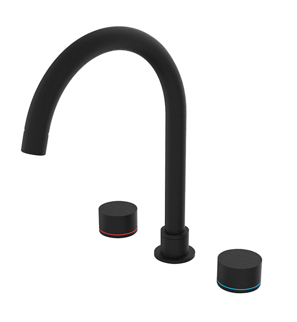 Kara Kitchen Set Matte Black