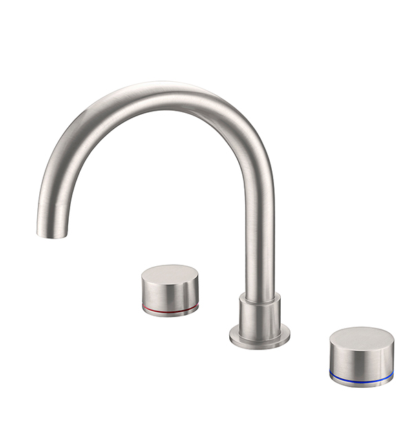 Kara Bath Set Brushed Nickel