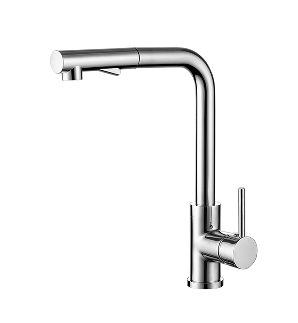 Mecca Pull Out Vegie Spray Sink Mixer Chrome