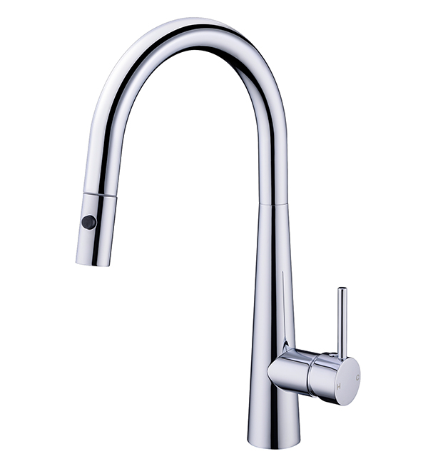 Dolce Pull Out Vegie Spray Sink Mixer Chrome