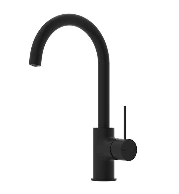 Mecca Kitchen Mixer Matte Black