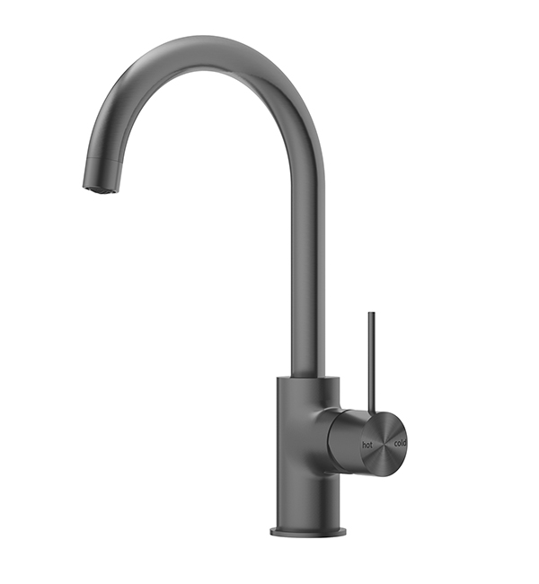 Mecca Kitchen Mixer Gun Metal grey