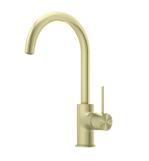 Mecca Kitchen Mixer Brushed Gold