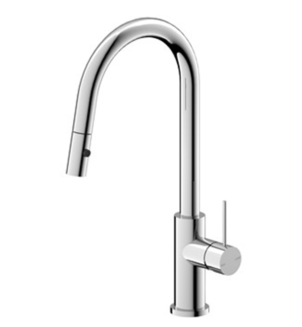 Mecca Pull Out Sink Mixer Chrome