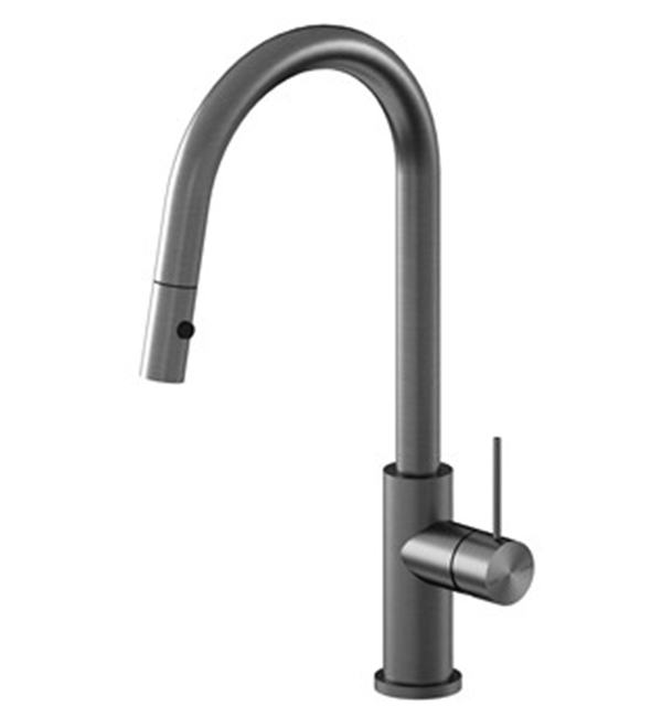 Mecca Pull Out Sink Mixer Gun Metal Grey
