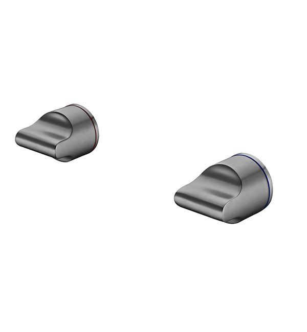 Pearl Wall Top Assemblies Gun Metal Grey