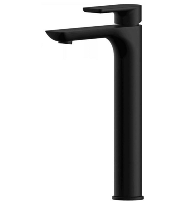Plush Black High Basin Mixer