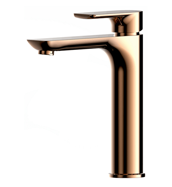Plush Middle Basin Mixer Rose Gold