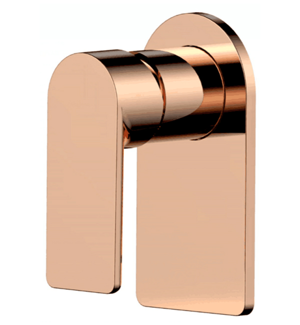 Plush ROse Gold Bath Shower Mixer