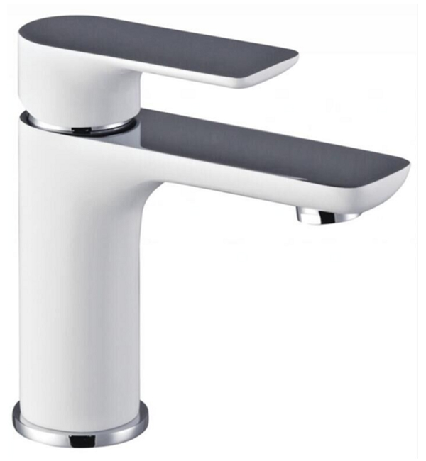 Plush White Basin Mixer
