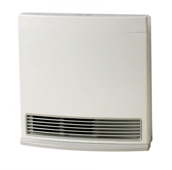 ROF1025 Rinnai Enduro 13 Convector Gas Room Heater WHITE
