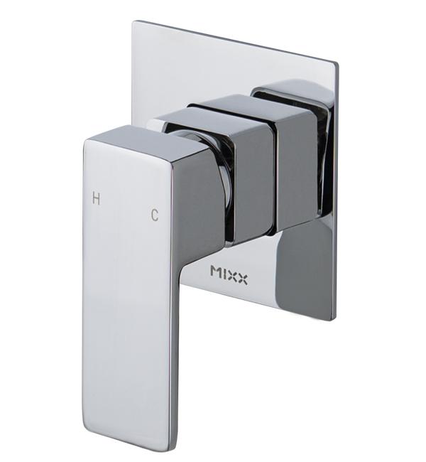 Sage Shower Wall Mixer Chrome