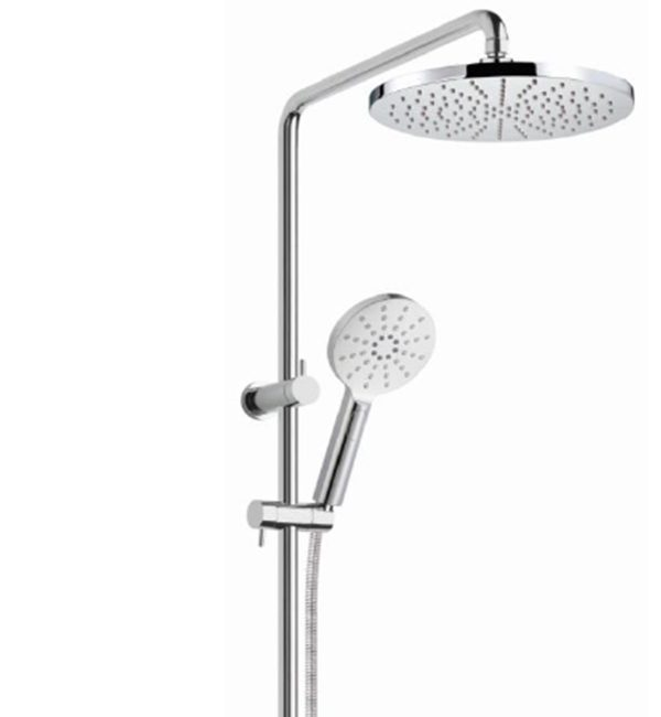 SHR1080 Bakara 3 function hand shower on rail set