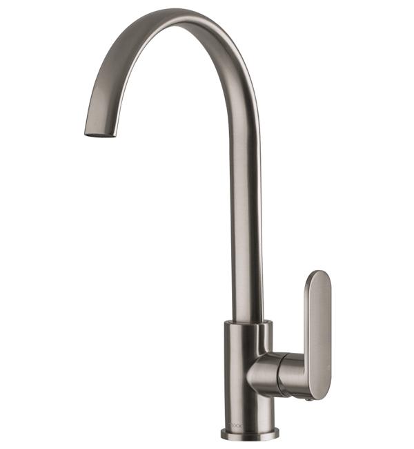 Saffron Sink Mixer Brushed Nickel