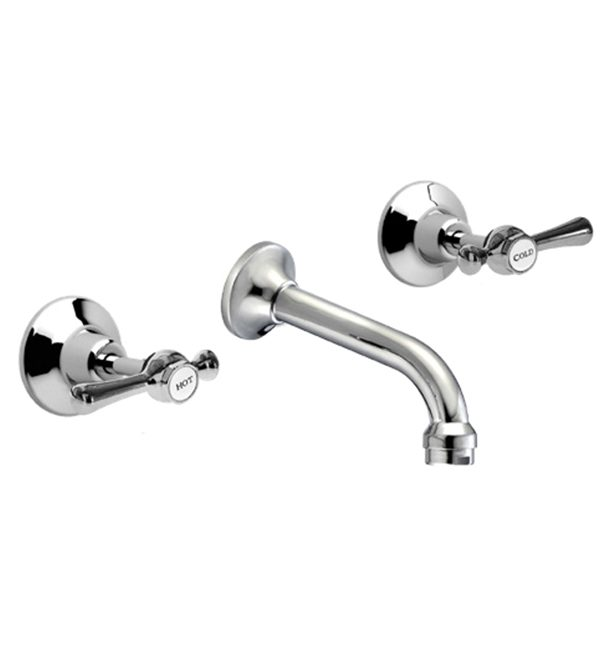 WHitehall Ezy Clean Lever Bath Set ANti Vandal Ceramic Disc
