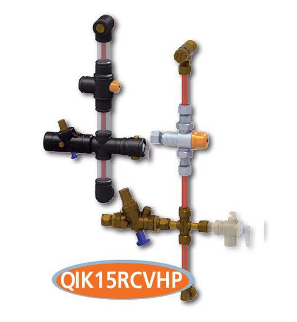 Quickie Kit 15mm C/W Combi Valve