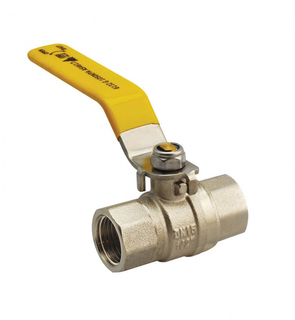Ball Valve FI Gas APproved Lever Handle