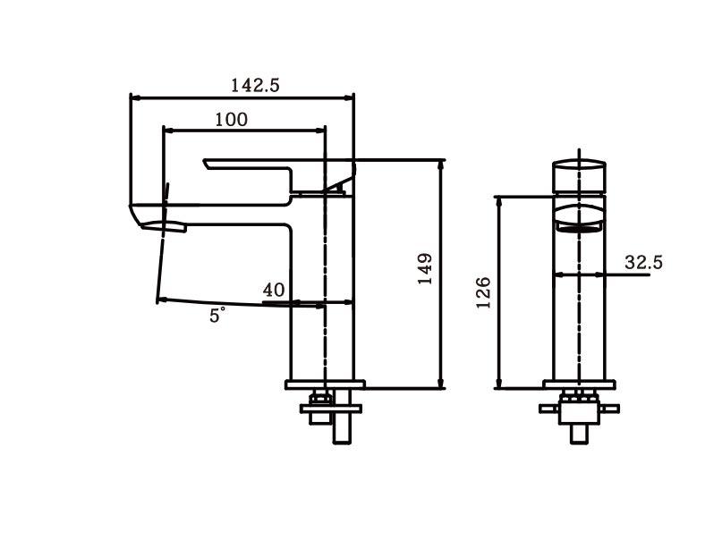 Serina Basin Mixer BN