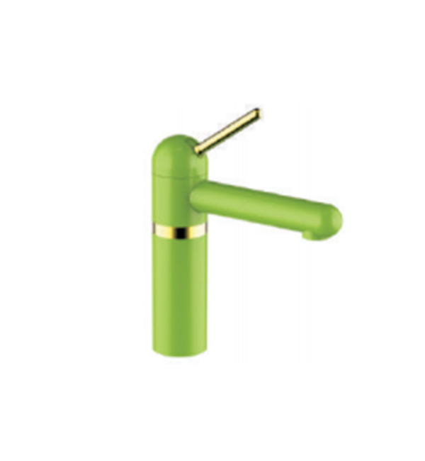Yoyo Green Basin Mixer
