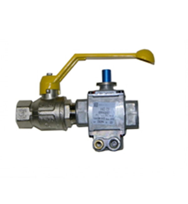 Handle Ball Valve Yellow Suit ITAp 9.5mm