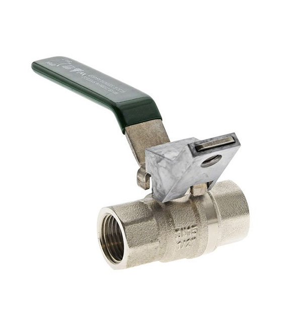 Ball Valve Lockable FI Dual Approved
