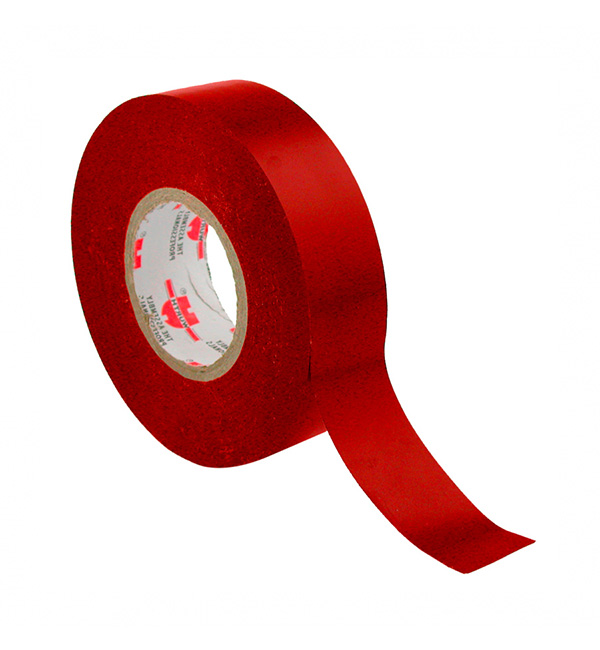 Insulation Tape PVC Red Electrical