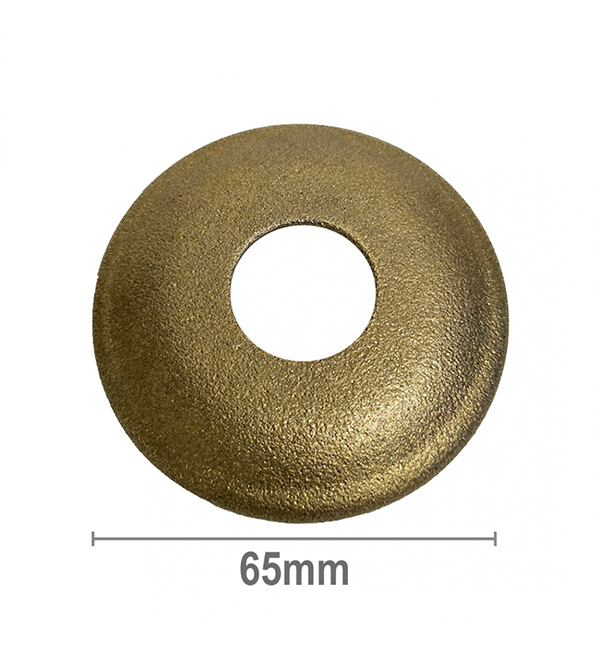 Cover Plate Rough Brass