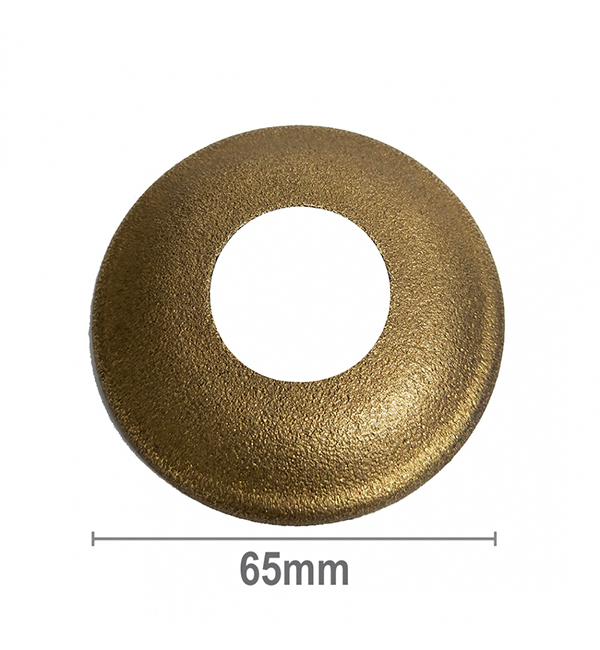 Cover Plate Rise Rough Brass