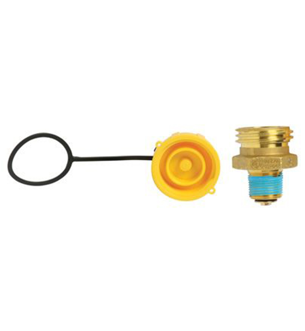 Forklift Valve with Cap